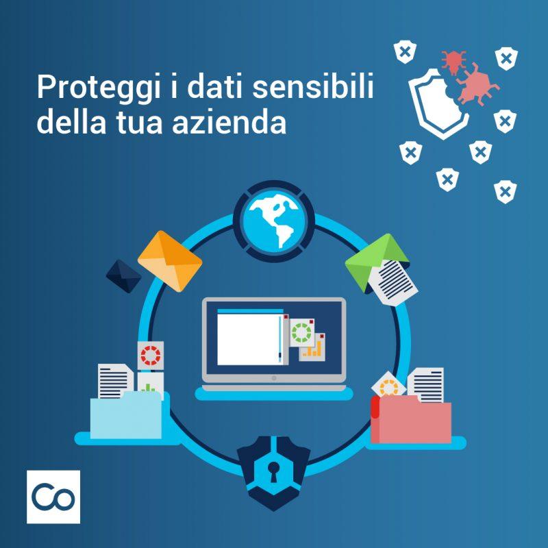 proteggi i dati sensibili della tua azienda