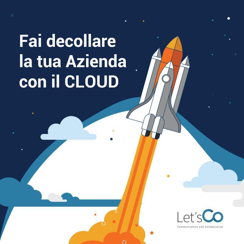 fai decollare la tua azienda con il cloud